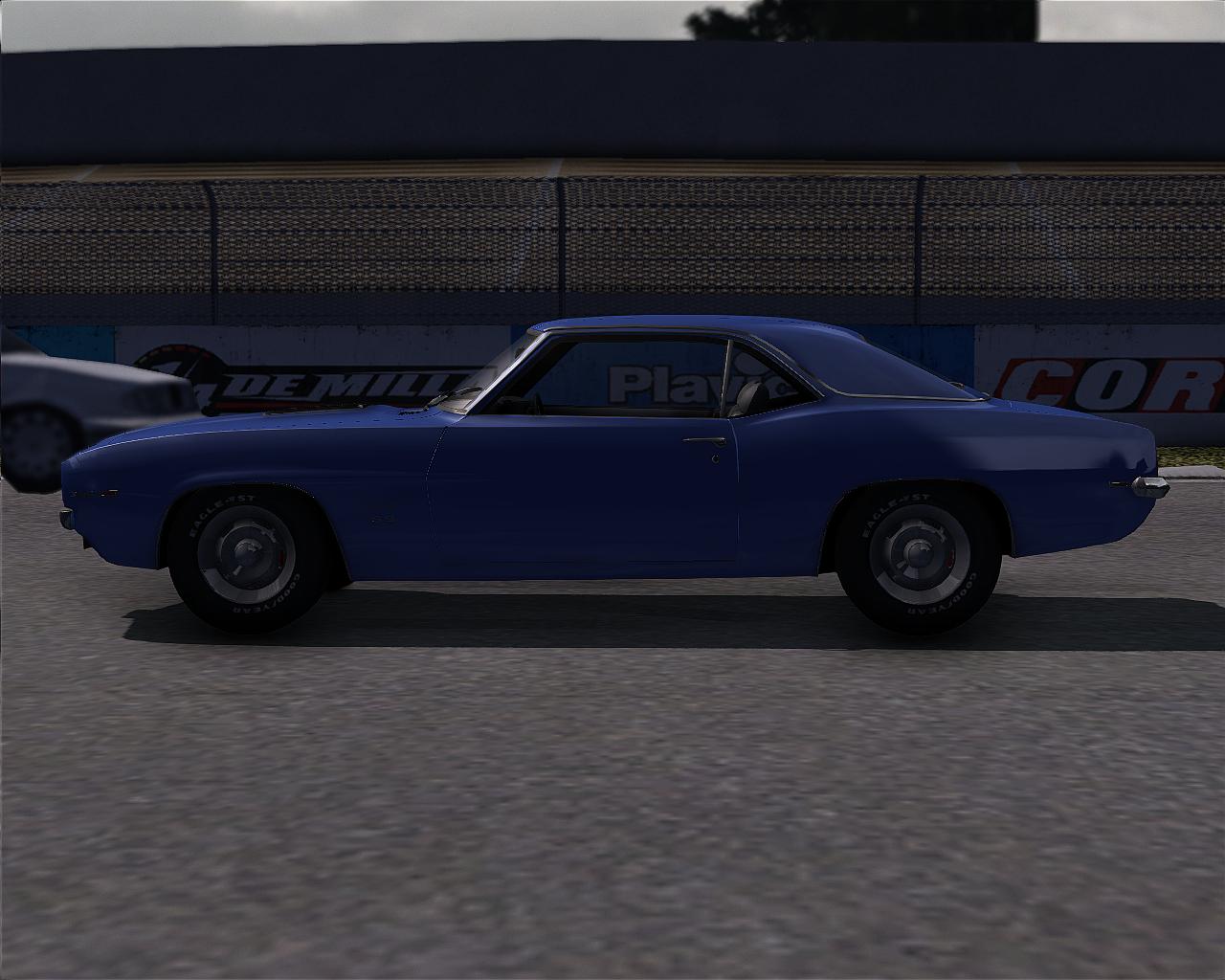1969 Chevy Camaro rims