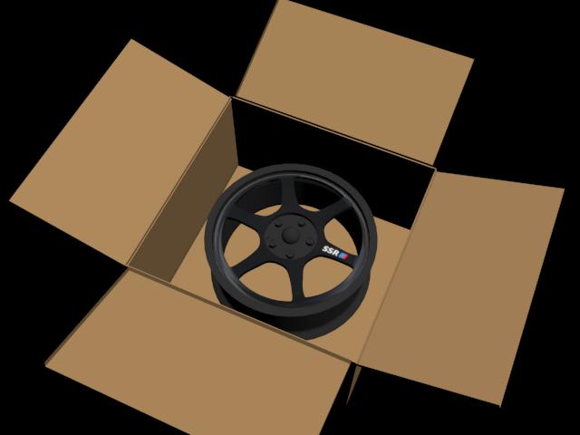 SSR Type C rim with rim box