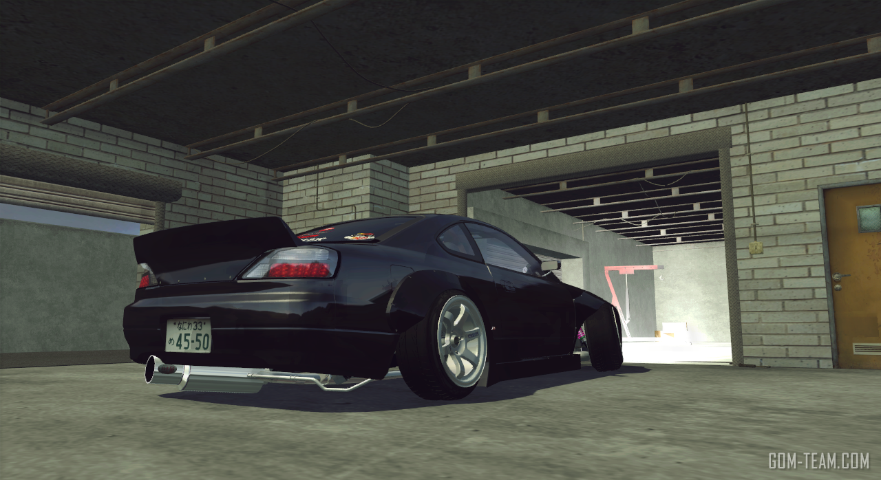 Mazda RX8 with Huge Wing Pack wing